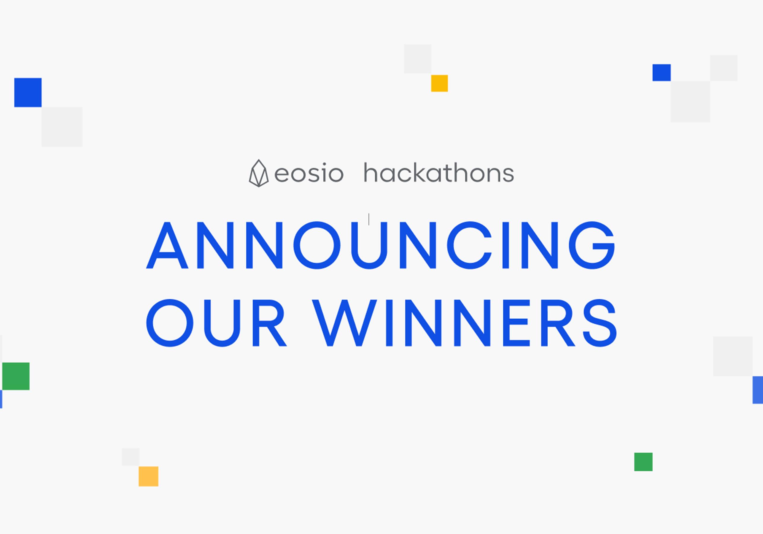Hackathon Winner Announcement - featured image